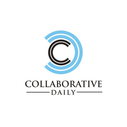 Create a logo for a new authority blog called Collaborative Daily.