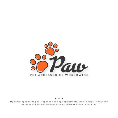 Paw Logo Concept