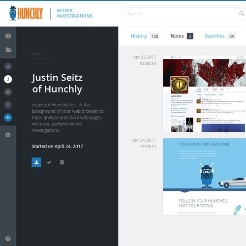 Online investigation tool