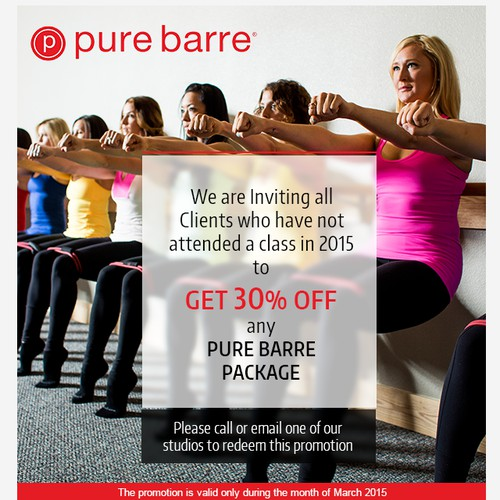 Email Design for Pure Barre