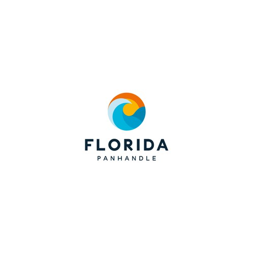 Bold logo concept for Florida Panhandle