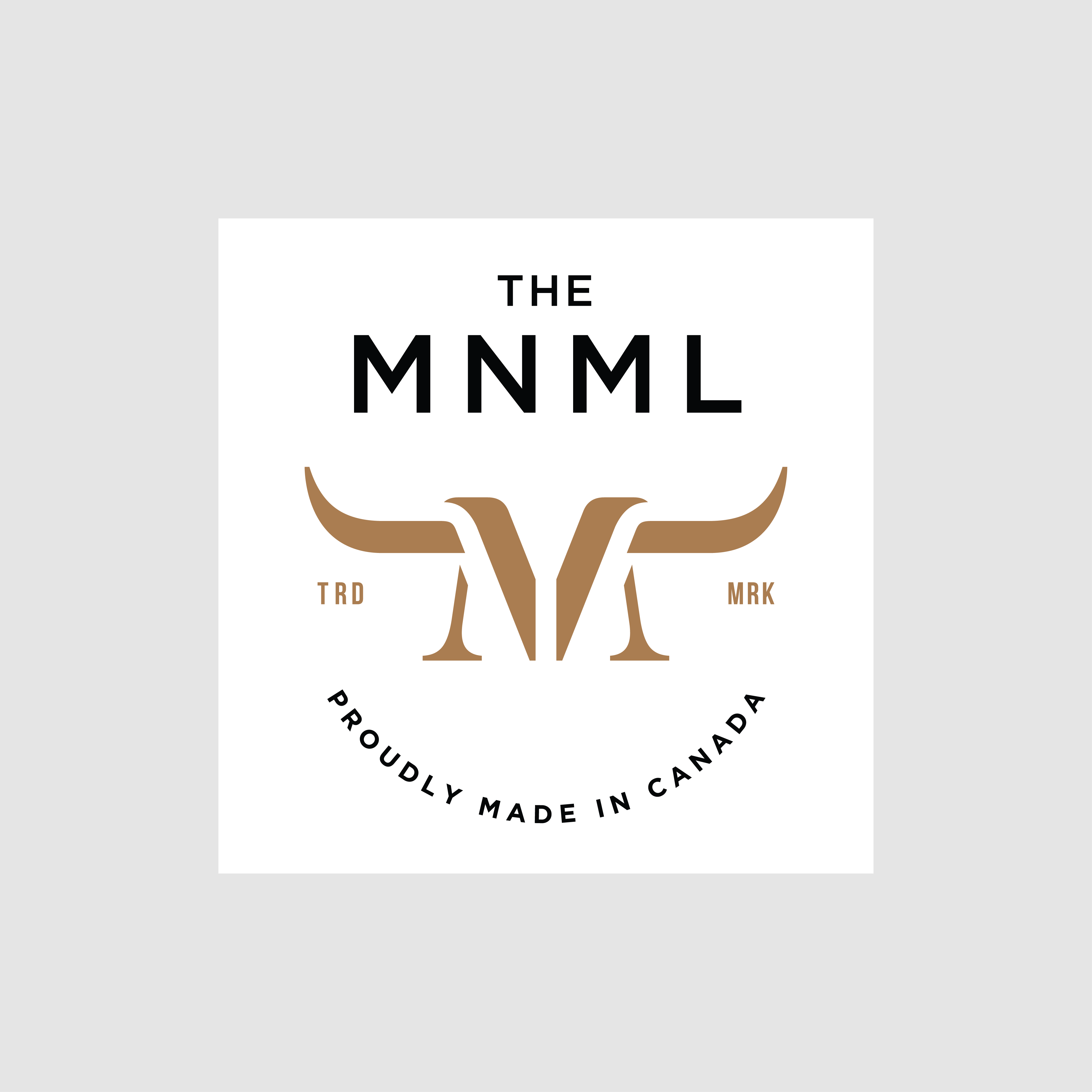 Logo for leather goods startup