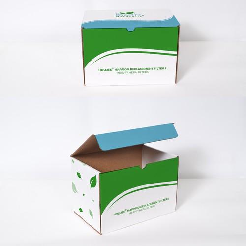 Breathe Naturally Box Design