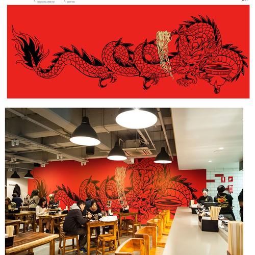 Fukuryu dragon