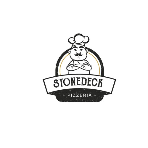 Logo concept for Stonedeck Pizzeria