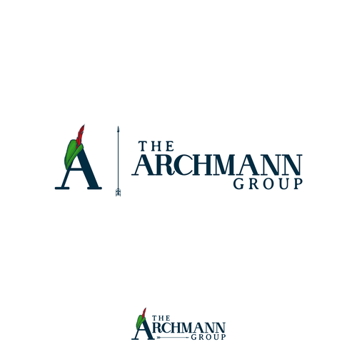 Winning Logo in contest : The Archmann Group