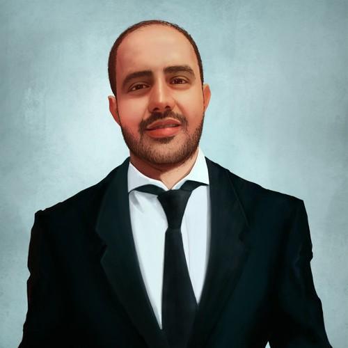 CEO Portrait Illustration