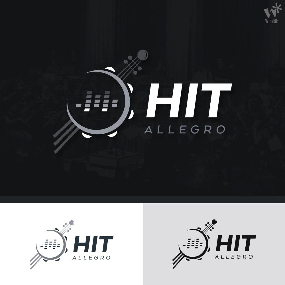 DESAFIO ! crie o logo do MIX entre o erudito, eletrônico e do Samba ! HIT.allegro