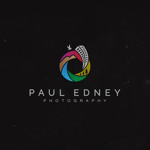 logo design for Paul Edney photography