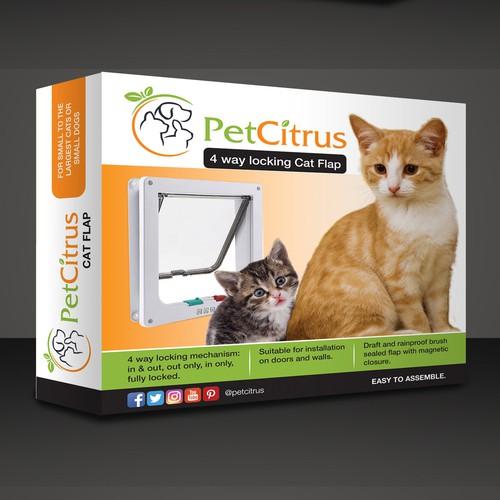 cat flap design package