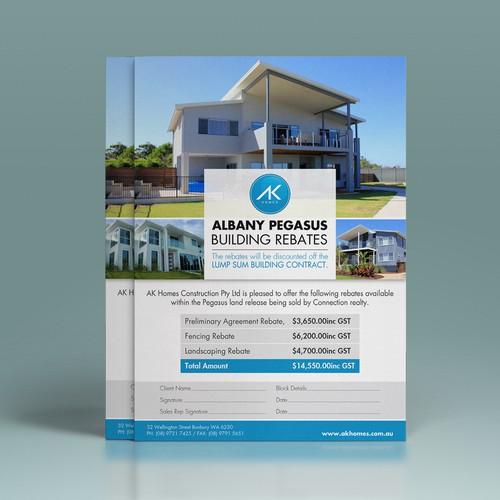 Albany Pegasus A4 Leaflet