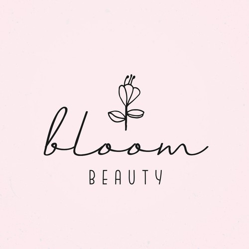 Super cute logo design for an artist in the beauty industry