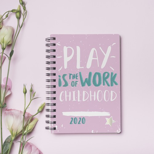 Notebook design for teachers