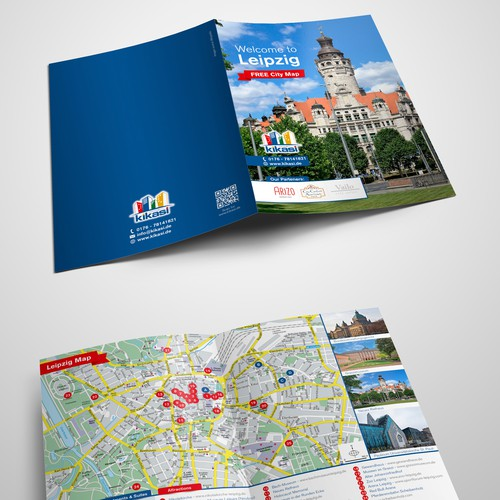 Free giveaway city map Brochure