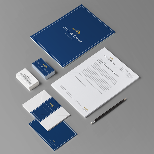 Classy Logo design for Real Estate firm