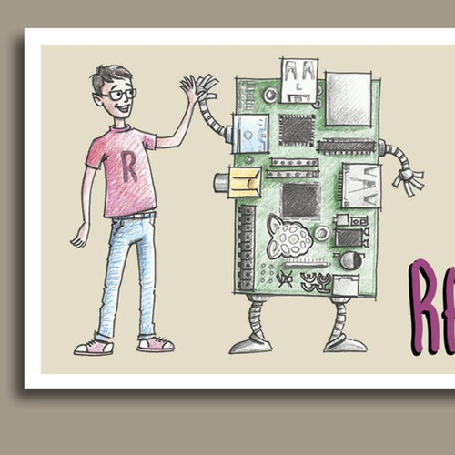 New illustration or graphics wanted for Raspberry Pi Guy