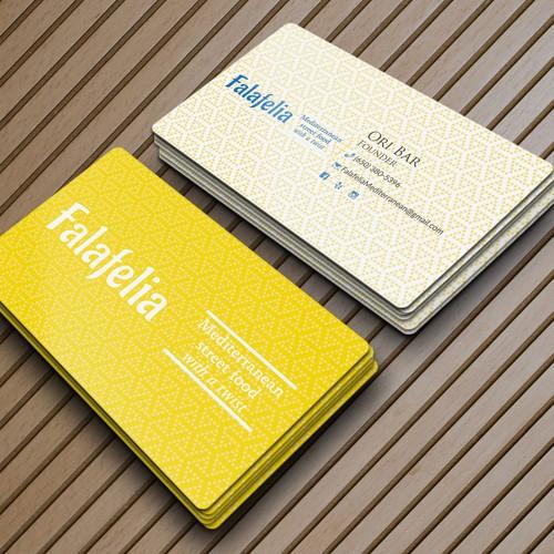 Business Card for Falafelia