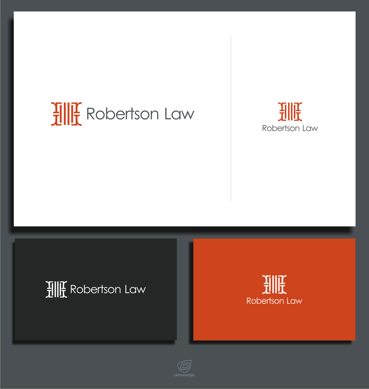 Help Robertson Law with a new logo