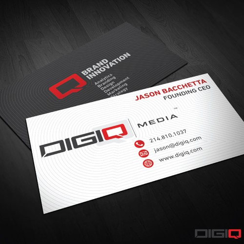 DIGIQ Media | Business Card