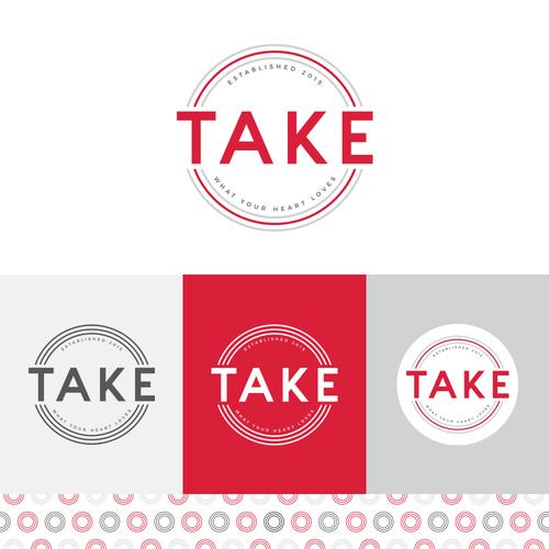 'Take' Restaurant Brand Identity