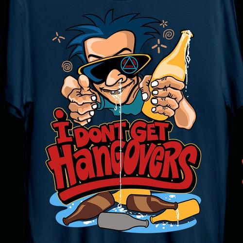hangovers t shity design