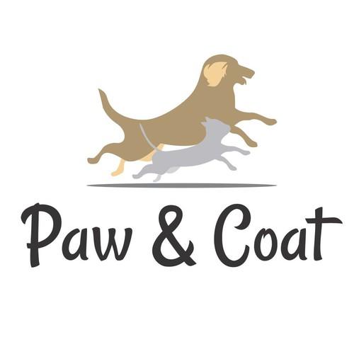 Logo for Paw & Coat