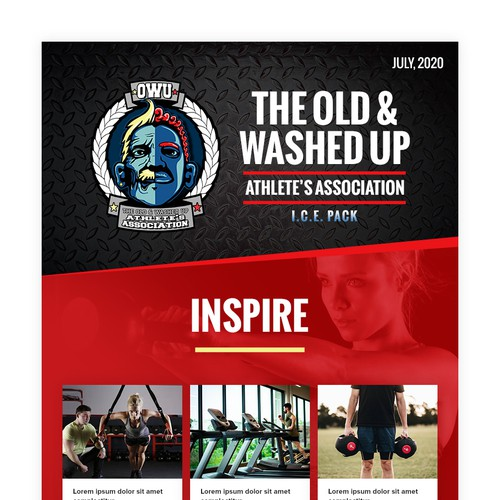The Old & Washed Up Newsletter