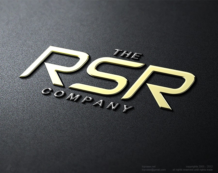 Innovative, bold logo for The RSR Company