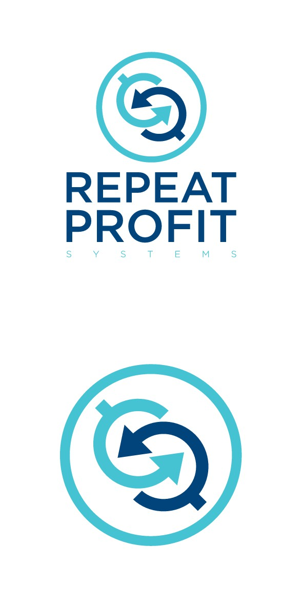 Create a legacy logo for Repeat Profit Systems