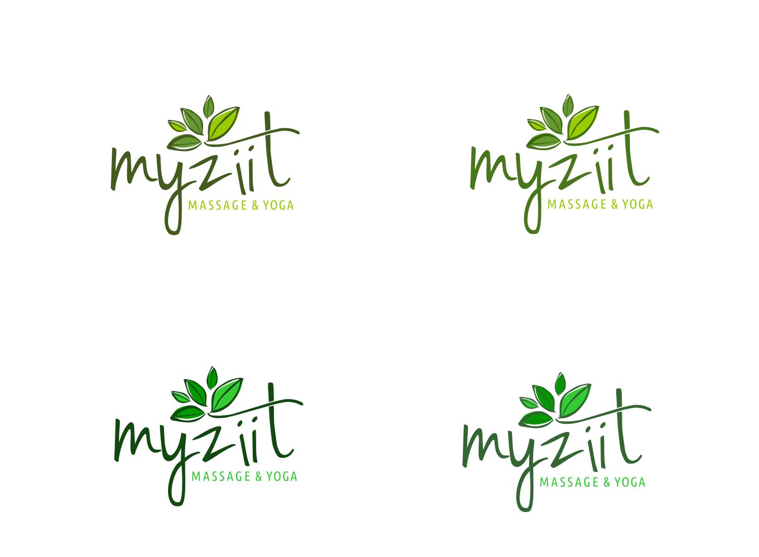 ein einfaches aber effektives Logo für meinen Massage&Yoga-Raum
