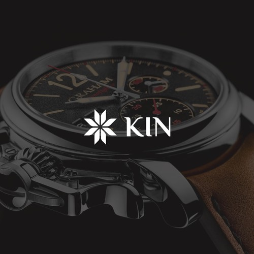 Powerful logo for Afrocentric watch brand