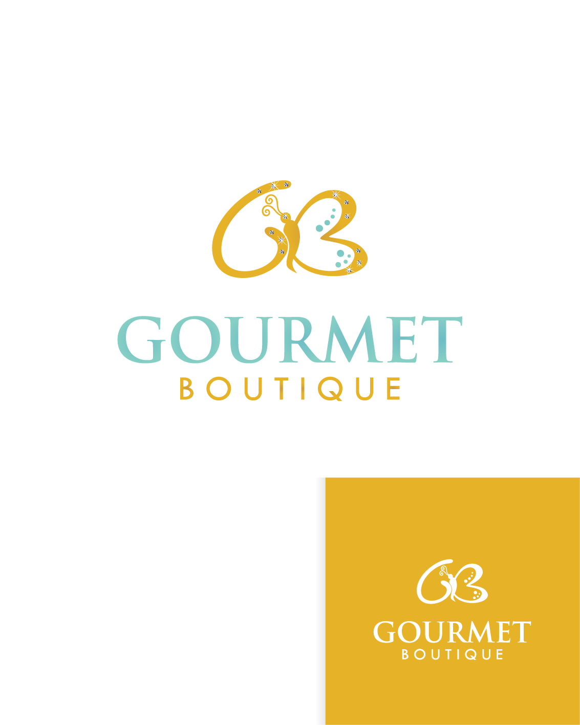 Create the next logo for Gourmet boutique