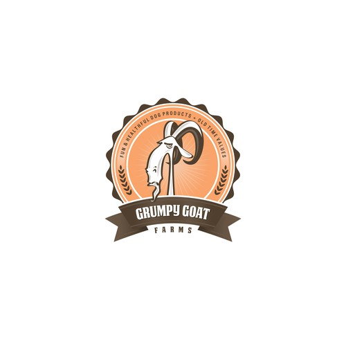 New logo wanted for Grumpy Goat Farms