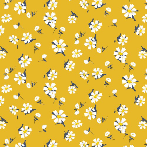 Floral pattern for swimwear brand