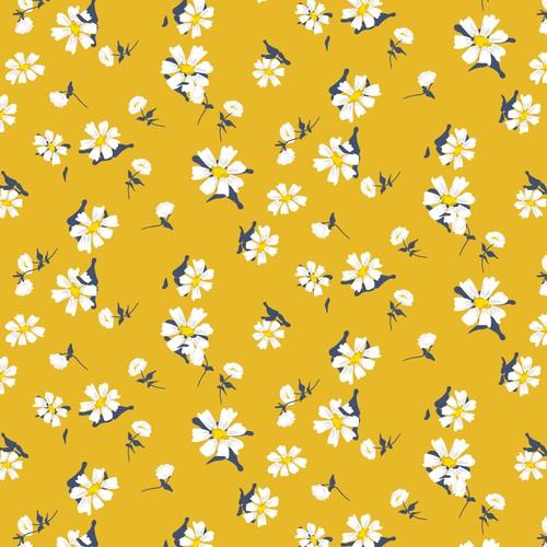 Floral pattern for swimwear brand