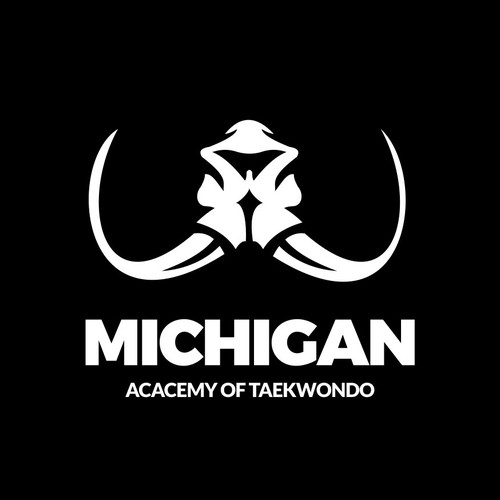 Logo concept mammoth.