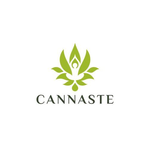 Powerful logo for Cannaste