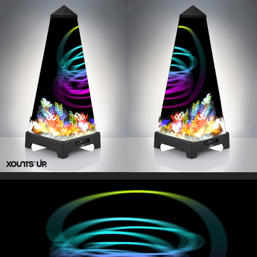 XOUNTS Design create a magic outer shell of a Sound & Ambience System