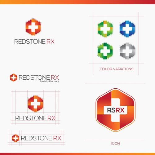 Logo for a specialty pharmacy NY