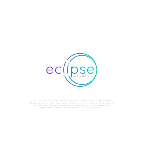 Hipster logo and branding for new online alternative high school.