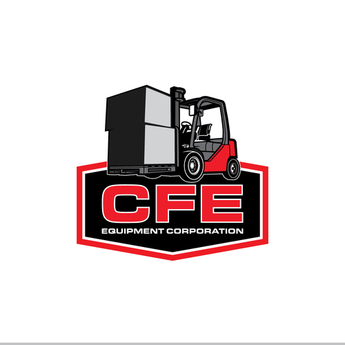 Design a powerful new logo for a nationally recognized forklift co.