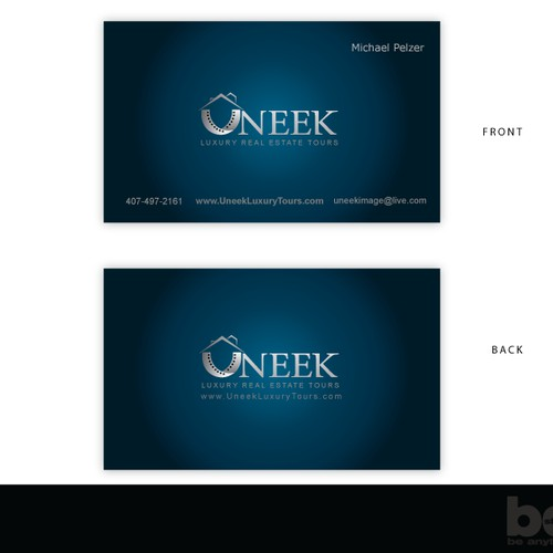 Luxury Real Estate videography logo/business card design