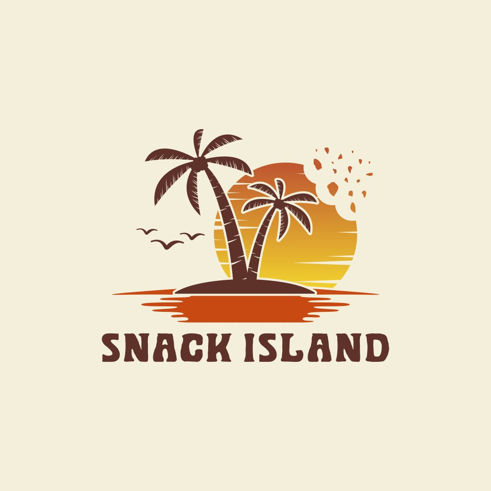Design a fun colorful logo for an Instagram based snack business