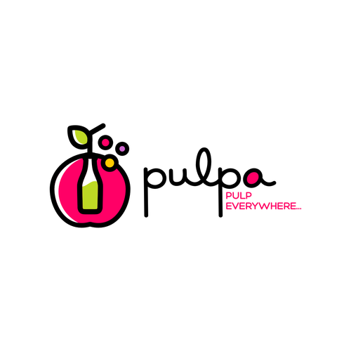 Winning Logo for Pulpa - Juice bar