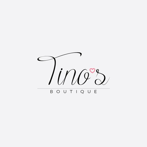 Simple logo concept for Tino's