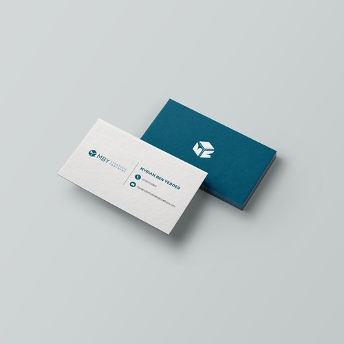 Logo and Business Card Design for MBY