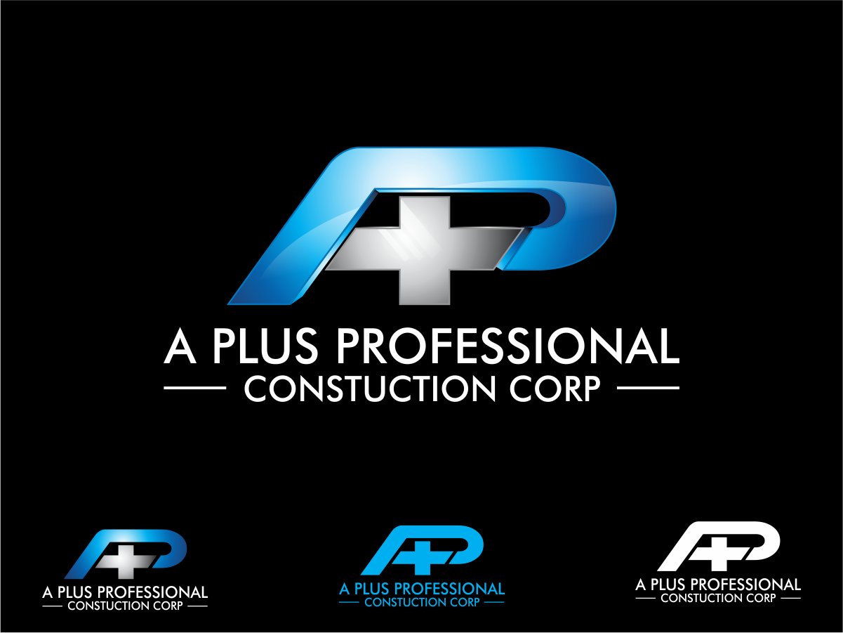 A Plus Professional Construction Corp.  needs a new logo