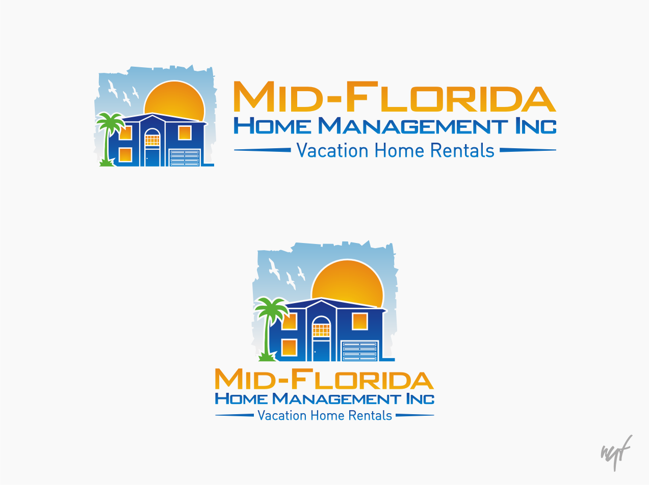 Create the new logo for Vacation Home Rental company in Florida.