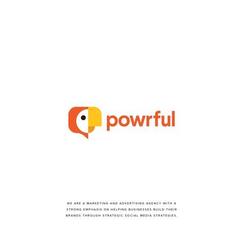 Powrful Logo
