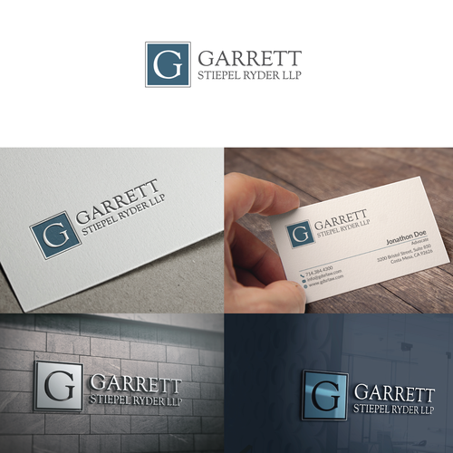 Garrette LLP Logo & Hosted Website